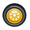 solid rubber tire polyurethane wheels