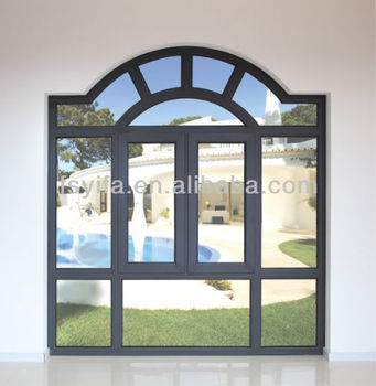 House Design Best Price Aluminum Window Swing Out Open For