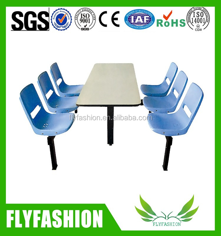 Blue chair dinning chairs and tables/school canteen furniture/dinning furniture