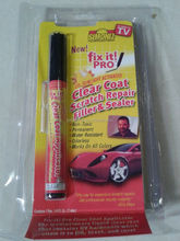 hot selling! china car care products fix it pro car scratch repair pen ,car scratch remover pen