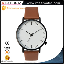 Fashion stainless steel caseback brand names wrist watch high quality mens watch made in china