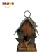 Home Decoration Wall Hanging Outdoor Metal Decor Wooden Bird House