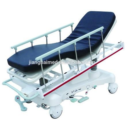 Hydraulic rise-and-fall medical stretcher cart, JHPC-101