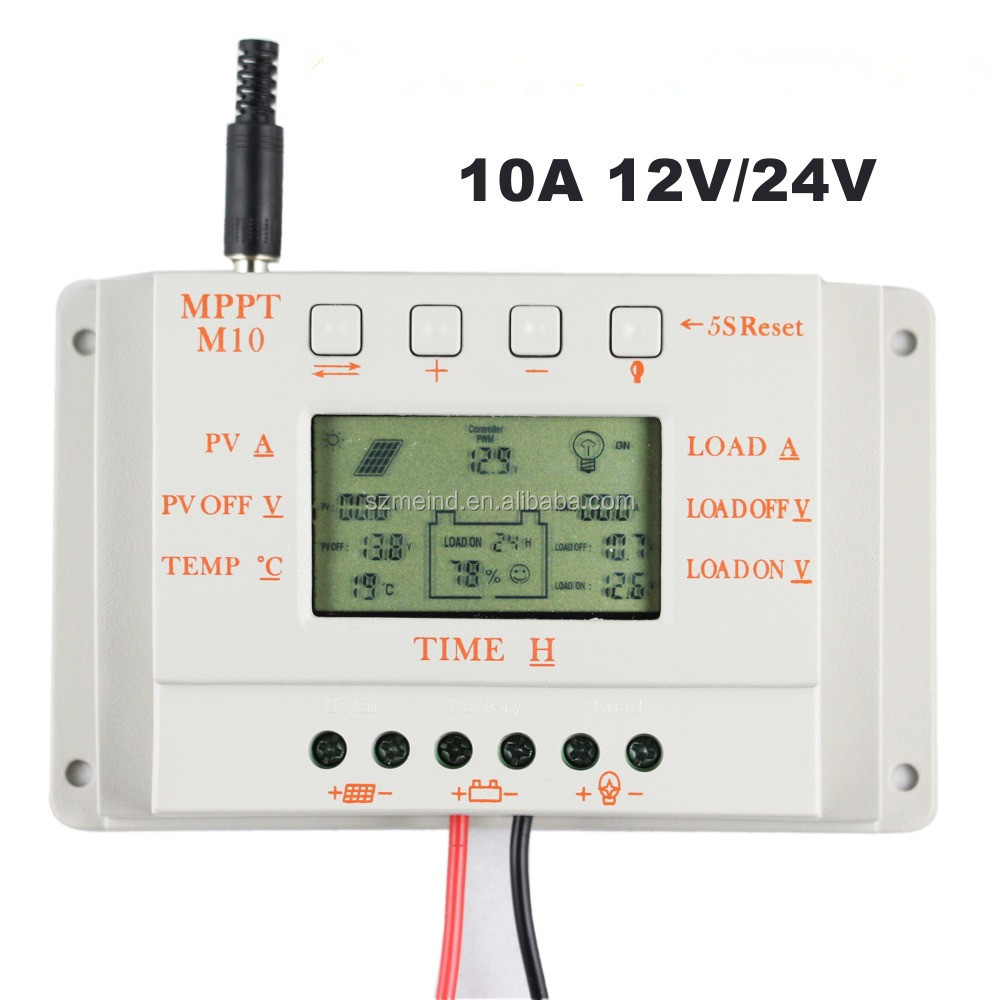 Laderegler 20a 12v/24v Solar Panel Charge Controller Battery Regulator Safe Protection Yy