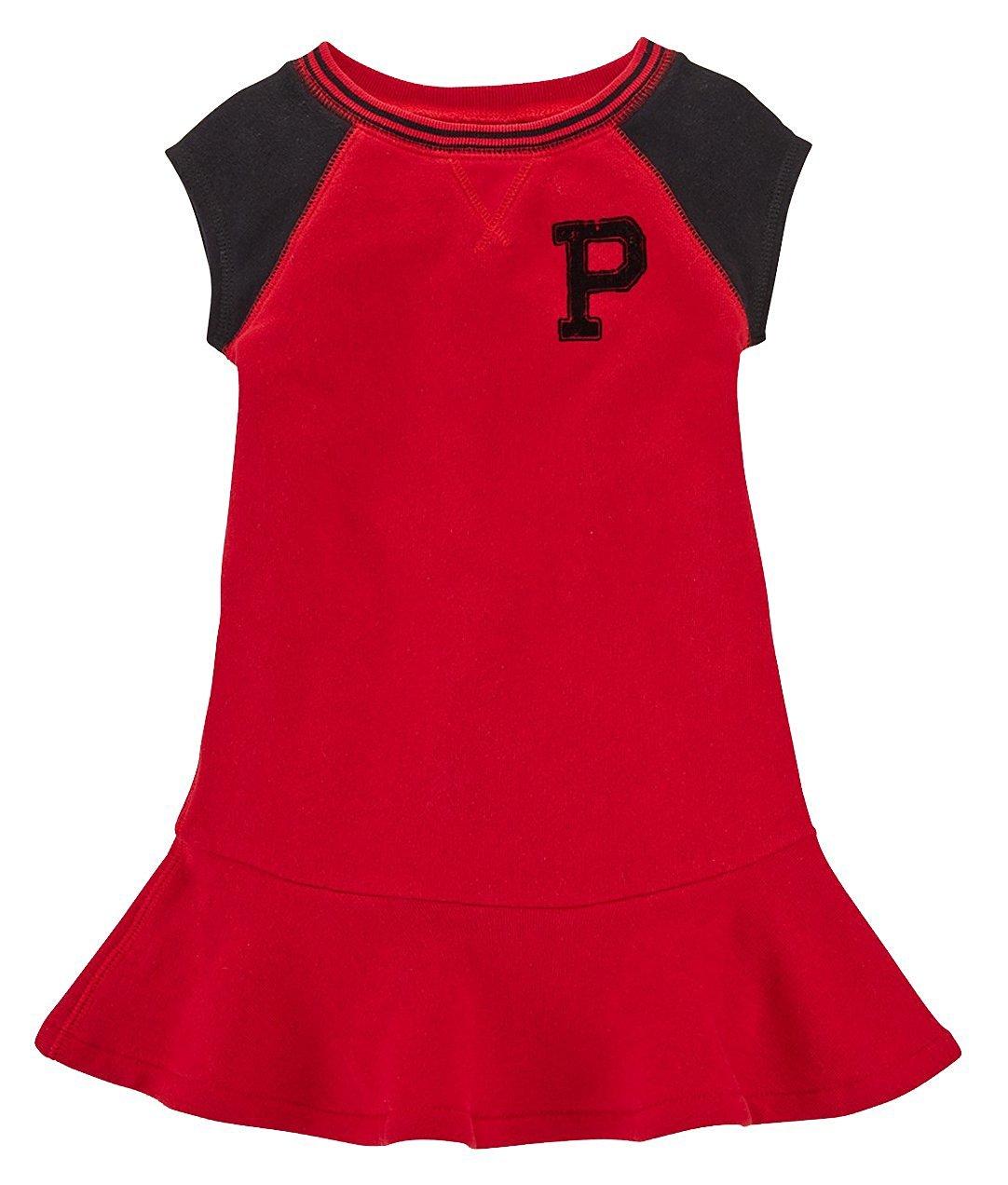 54aa5a287c Get Quotations · Ralph Lauren Polo Girls P Logo Fleece Dress (M 8 - 10)