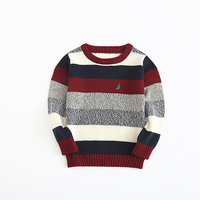 S14895A 2017 autumn and winter kid clothing o-neck cotton boy sweater