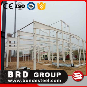 CE certification steel structure prefab workshop in saudi arabia