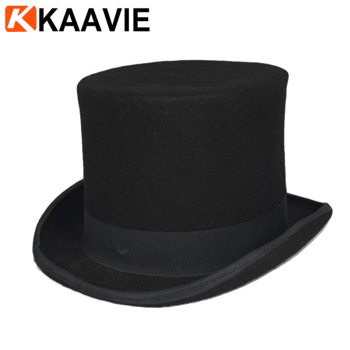 Cheap High Crown Slash Silk Red Black Band Top Hat - Buy Black ... 396e2e1b0bc