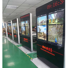 65 Inch Floor Standing digital signage android touch all in one LED Advertising Display Board