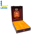 hot selling products custom printed logo wooden packaging wine box