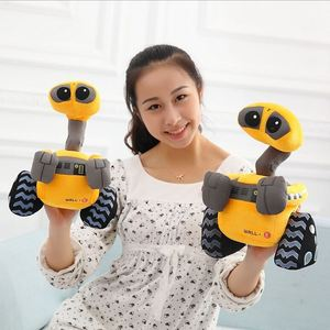 25cm Cartoon Robot WALL.E Plush Toys Stuffed Anime Toys Factory Supply Christmas gift for Kids Children