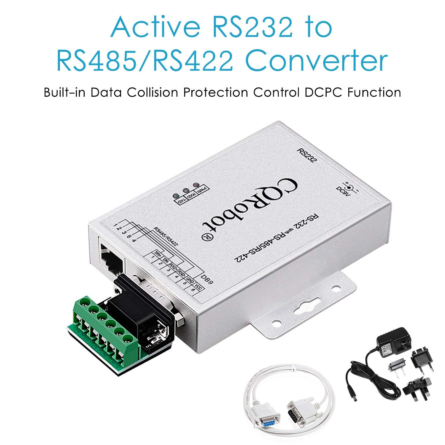 Cheap Rs422 Converter Find Deals On Line At Alibabacom Rs 485 Data Interface Gives Isolated Full Duplex Operation Get Quotations Active Rs232 To Rs485 Serial Bidirectional Adapter Supports 600w Anti