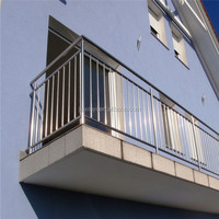 Terrace 304/316 stainless steel rod bar railing balcony outdoor