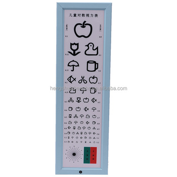 5m Cute Visual Acuity Chart Cartoon Eye Testing Chart For Children