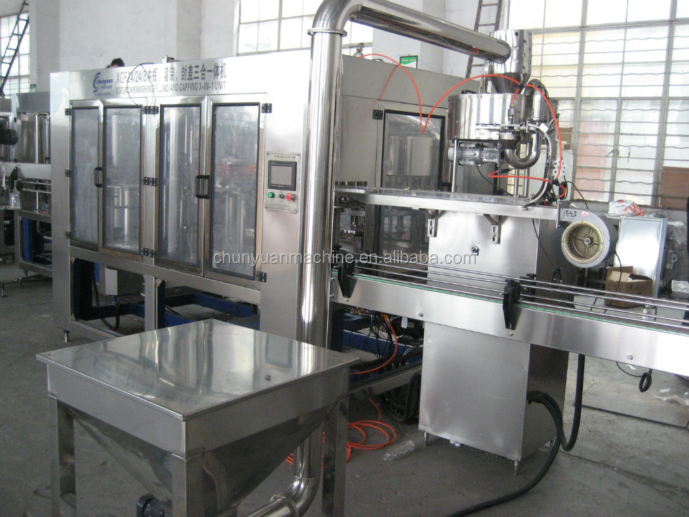 Factory Made Hot Beverage Juice Bottle Filling Production Equipment