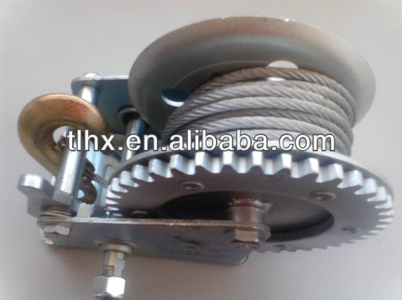 1200lbs hand winch,hand operated winches