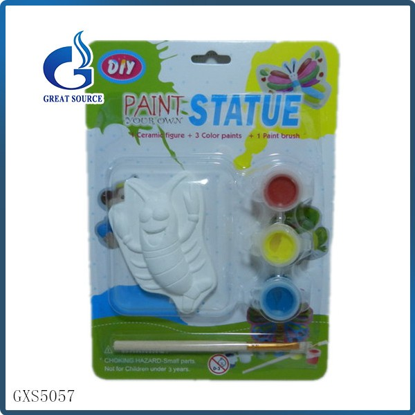 Draw By Yourself Kids' Best Intelligent Gift Ceramic DIY Paint Toy
