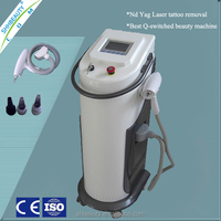 Sapphire+ ruby switch Q colors tattoo removal q switch yag laser skin care machine