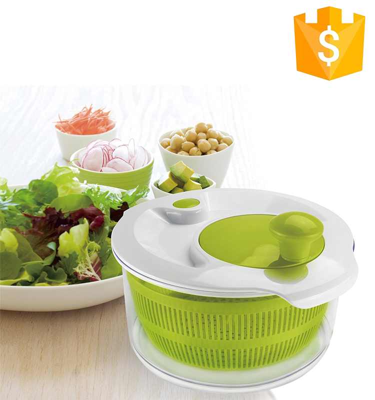 2016 Manual Plastic vegetable spinner salad spinner