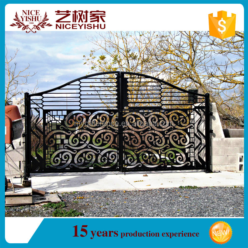 2016 New Latest House Main Gate Desings / Laser Cut Main Gate ...