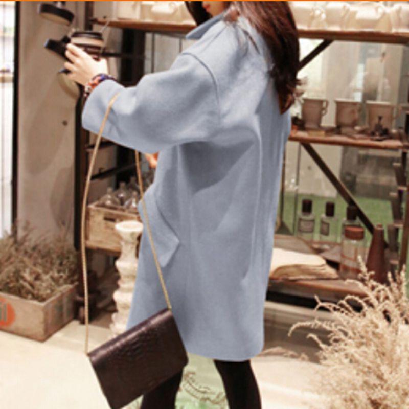 Осень зима 2015 нью-лонг шерстяное пальто женщины китайский свободно Большой размер длинным рукавом зимнее пальто женщин шерстяной жакет дизайн CCC395S