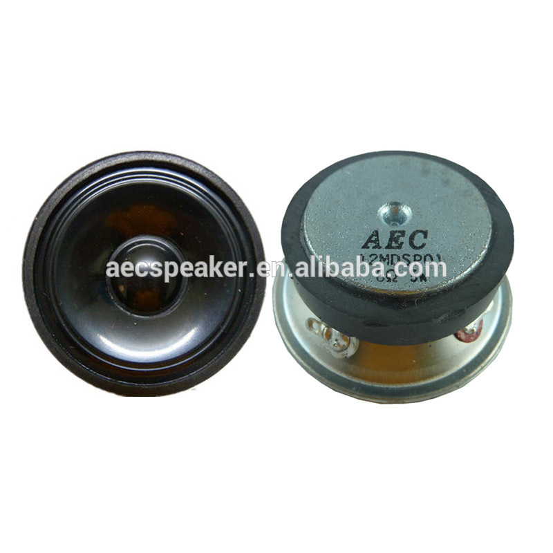 Round Shape 57MM 8ohm 5W Professional Speaker Parts