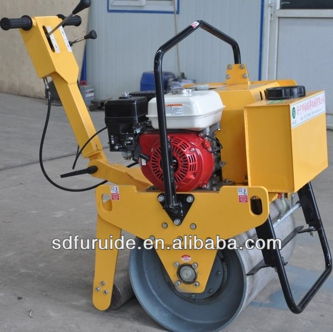 lowest price!!!Single Drum pedestrian Vibrating mini compacting roller