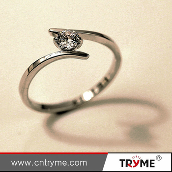 Escrow Accept Mcnally Solitaire Ring - Buy Mcnally Solitaire  Ring,Golddiamond Ring,New Model Ring Product on Alibaba com