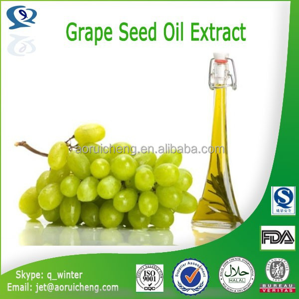 Best selling organic product cold pressed grape seed oil