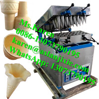 ice cream cone wafer making machine for sale / stick ice cream cone making machine / waffle maker machine