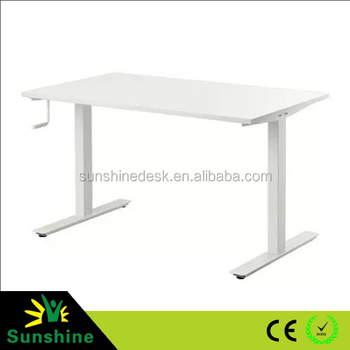 Hand Crank Adjustable Table Base