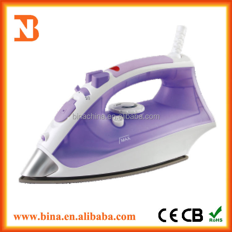 2200w Stainless Steel Soleplate Steam Iron