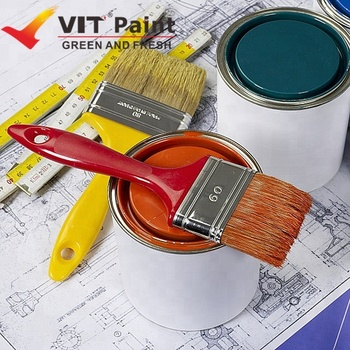 Vit Best Interior Paint Mold And Mildew Resistant Steel Wood Masonry White Wall