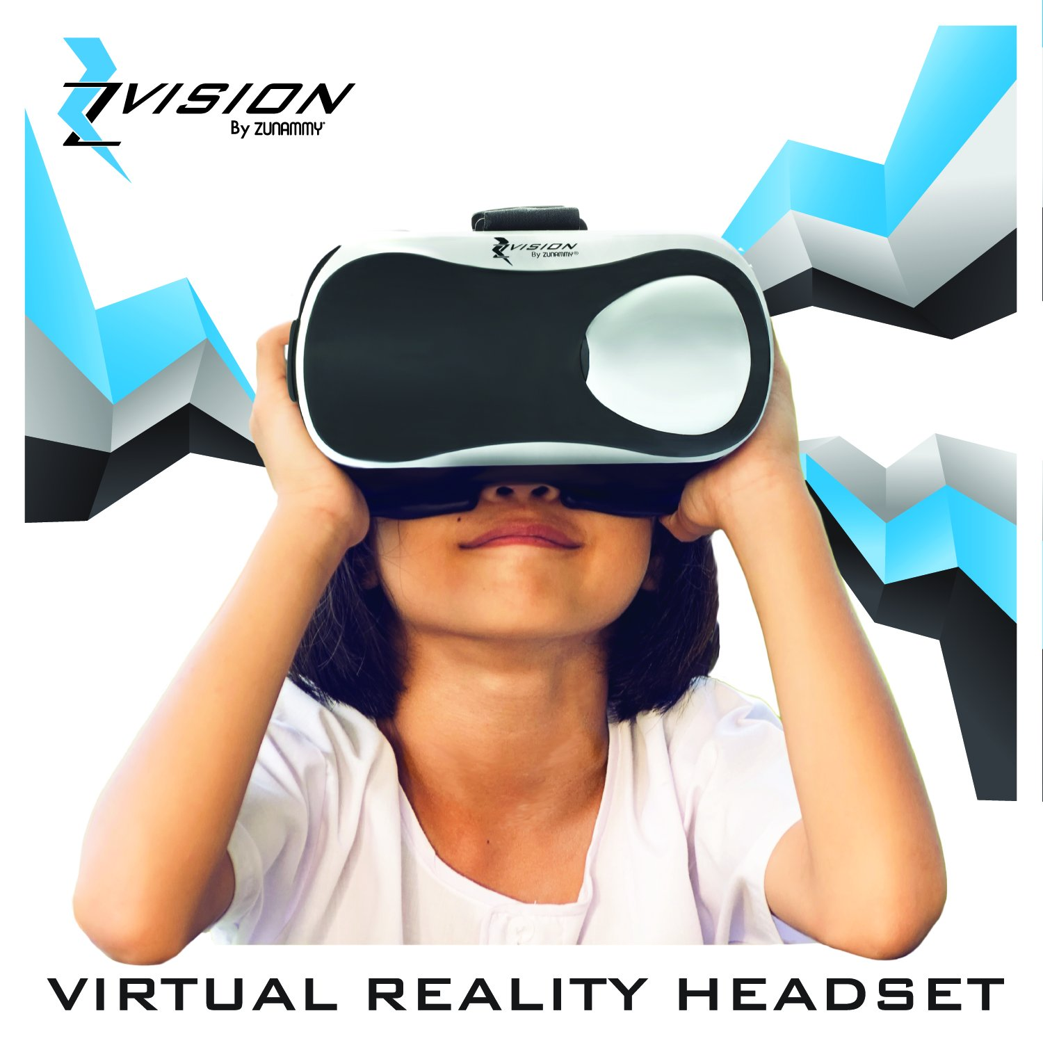 1d1e87898bd4 Get Quotations · Zvision Virtual Reality Headset