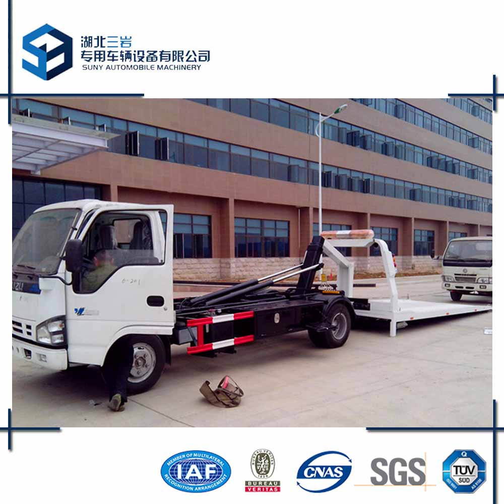 600P Roll Back Tow Truck 5T Car Carrier Tow Truck For Sale