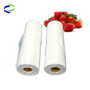 High Quality Hdpe Plastic Clear Flat Bag in Roll