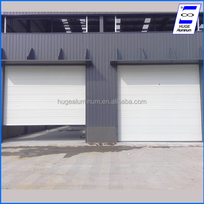 Alibaba china suppliers aluminum roll up garage door
