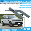 High quality PC type rain visor for RangeRover Supercharged 2012