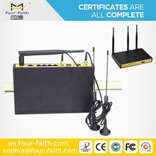 industrial M2M 4g dual sim router wifi router for Vessel Monitoring system F3846