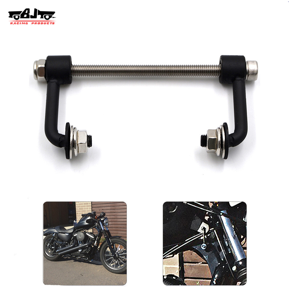 "BJ-TLK-883 Motorcycle Billet Sportster 2"" Durable Tank Lift Kit for Harley 883 XL Sportster Irons Nightsters 1995-UP"