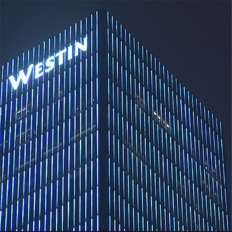 Dc24v Building Facade Lighting And Decoration Building Led