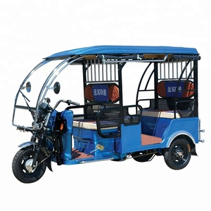 Best Sale Tuk Tuk Taxi India 3 Wheel Adult Passenger Electric Tricycle