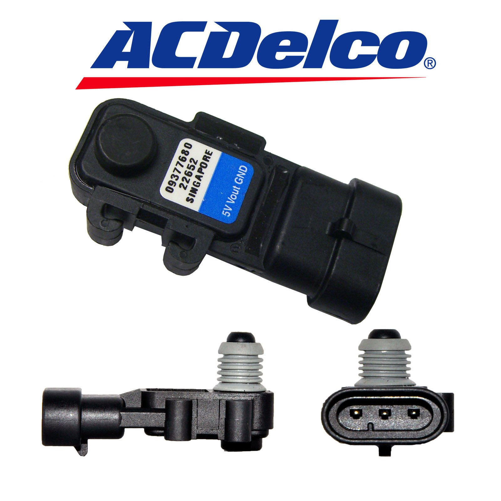 Fuel Injection Fuel Rail Pressure Sensor ACDelco GM Original Equipment 213-4420