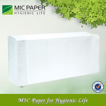 wholesale mixed material 2ply multifold paper towel