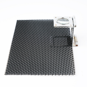 wholesale high security black spark screen mesh
