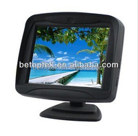 Wide View Angle High Resolution LCD Monitor with RCA Input