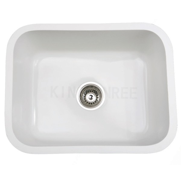 Artificial stone solid surface kitchen sink prices in for Solid surface kitchen sink