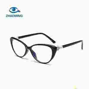 492b4b1a9bd0 Fashion Cat Eye Reader Glasses Women Transparent Anti Blue Light Eyeglasses  Hyperopia Prescription Reading Glasses