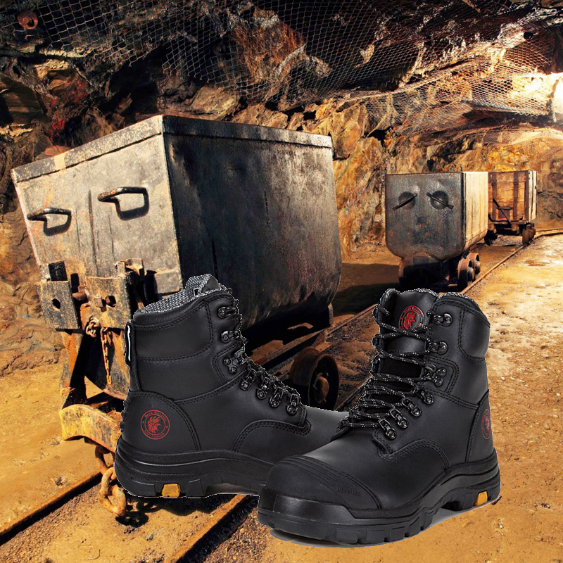 SRC standard australian safety oil S2 shoes shoes mining resistant safety HxCwT