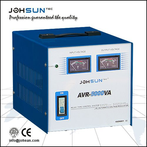Avr-t Single Phase Relay Type Voltage Stabilizer